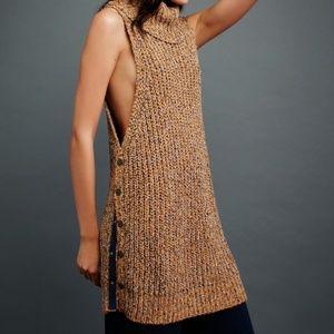 Free People Valentina Sleeveless Tunic  Sweater
